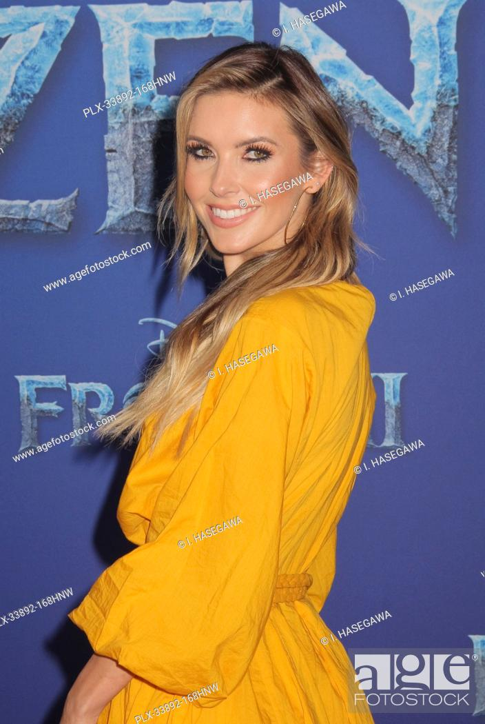 """Stock Photo: Audrina Patridge 11/07/2019 The World Premiere of """"""""Frozen 2"""""""" held at the Dolby Theatre in Los Angeles, CA. Photo by I. Hasegawa / HNW / PictureLux."""