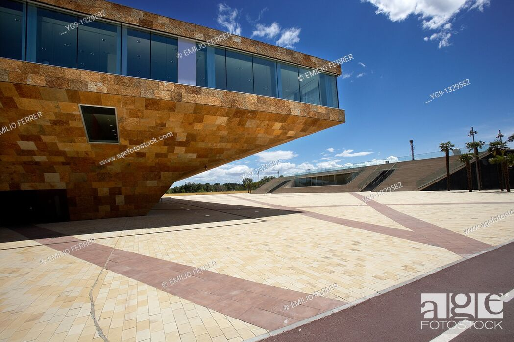 Stock Photo: La LLotja  Congress Theatre and Convention Centre  LLeida, Spain.