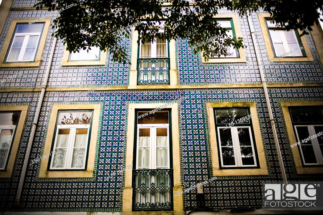 Photo de stock: Facade in Alfama, Lisboa, Portugal.