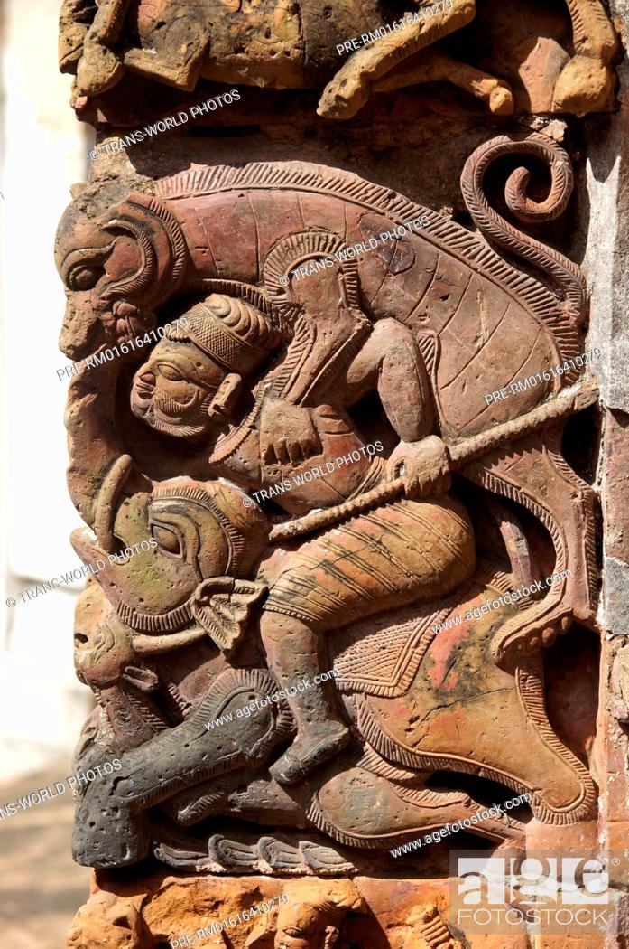Stock Photo: Lalji temple, Kalna, Bardhaman District, West Bengal, India, Asia / Lalji-Tempel, Kalna, Bardhaman Distrikt, Westbengalen, Indien, Asien.