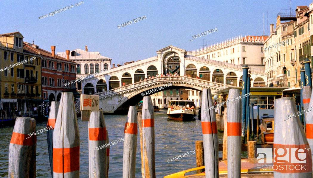 Stock Photo: Rialto Bridge Venice.