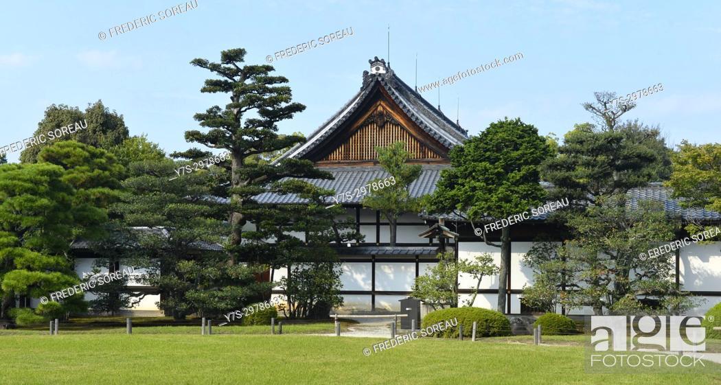 Stock Photo: Nijo castle, Kyoto, Japan, Asia.