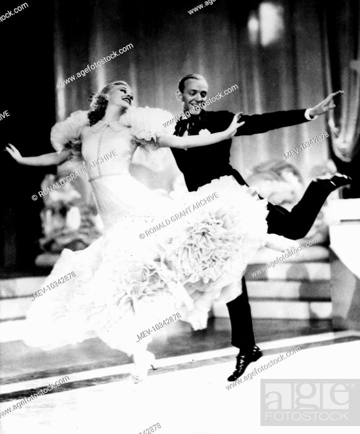 Swingtime Ginger Rogers Fred Astaire Stock Photo Picture And Rights Managed Image Pic Mev 10342878 Agefotostock