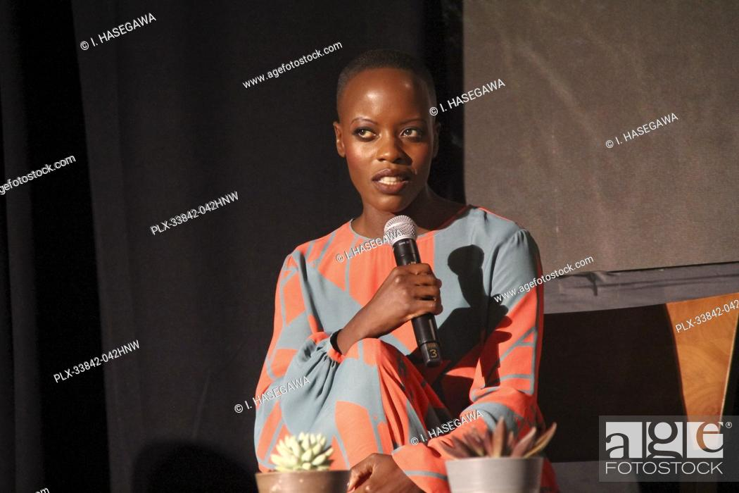"Stock Photo: Florence Kasumba 07/10/2019 """"The Lion King"""" Press Conference held at the Montage Beverly Hills Luxury Hotel in Beverly Hills, CA. Photo by I."