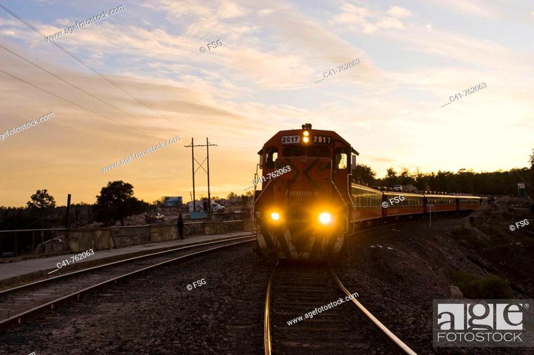 Stock Photo: Divisadero, Chihuahua, Mexico.