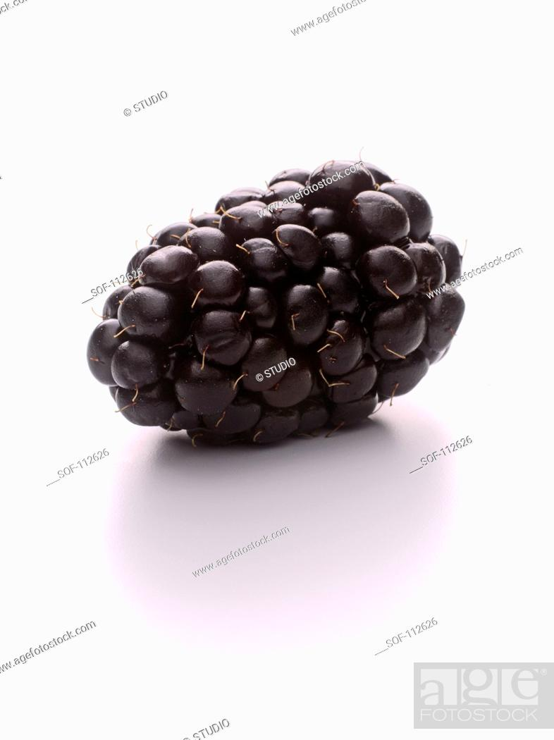 Stock Photo: Blackberry.