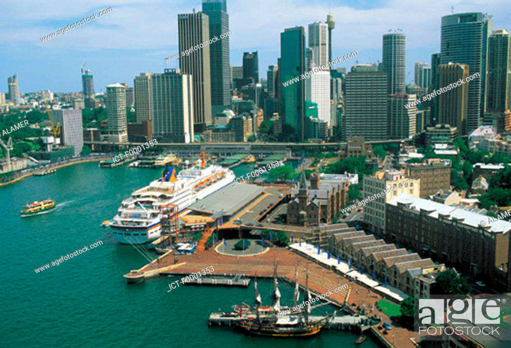 Stock Photo: Australia, general view of Sydney.