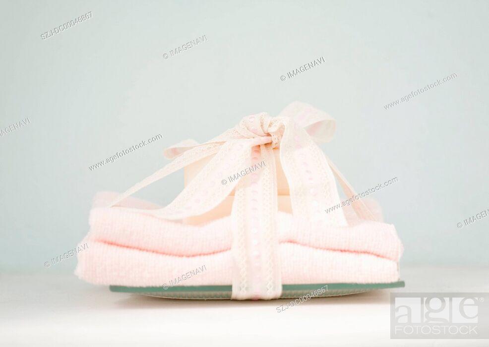 Stock Photo: Bath gift.
