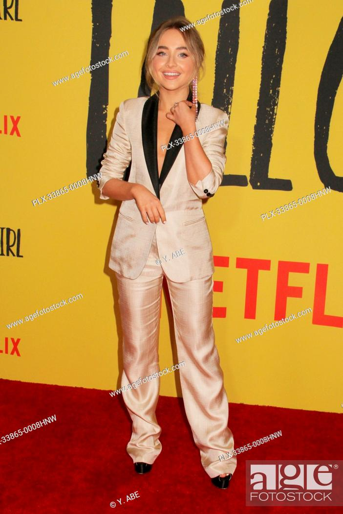 """Stock Photo: Sabrina Carpenter 09/09/2019 The Los Angeles Special Screening of """"""""Tall Girl"""""""" held at the Netflix in Los Angeles, CA Photo by Y."""