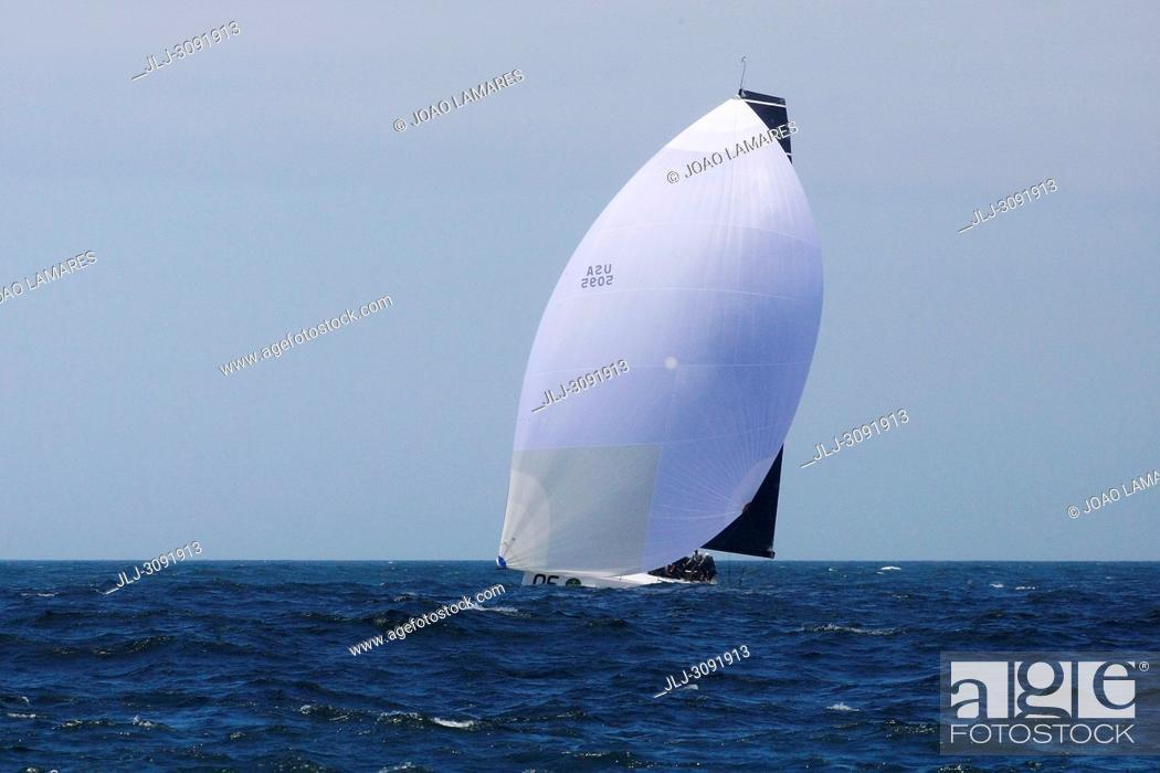 Stock Photo: Rolex TP 52 World Championship, TP52 Super Serires, Cascais, Portugal | Photos by Joao Lamares / JLpress / AGE fotostock.