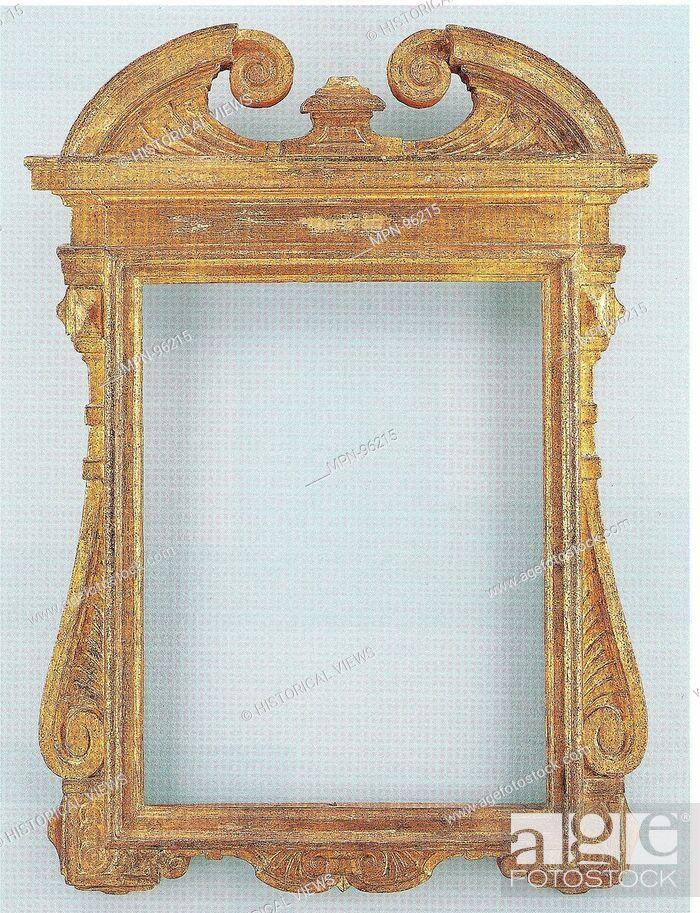 Tabernacle Frame Date Ca 1640 Culture Italian Lombardy