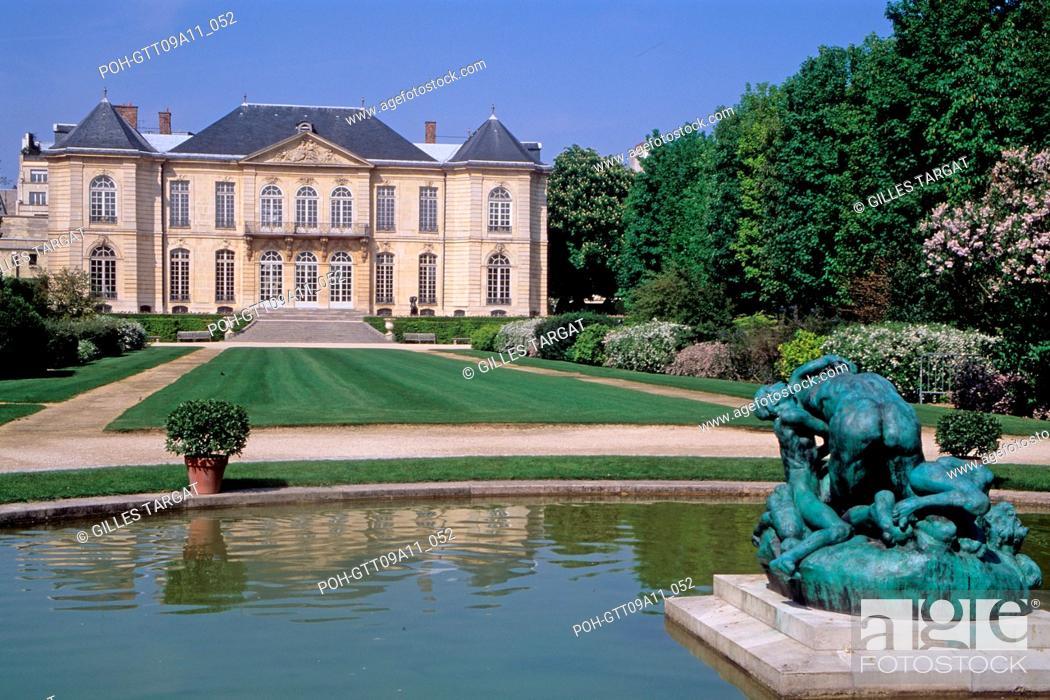 Tourism Hotel Biron Actual Musee Rodin Museum 79 Rue De Varenne