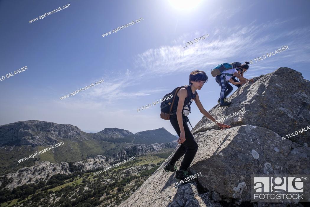 Stock Photo: Sierra Son Torrella, Mallorca, Balearic Islands, Spain.