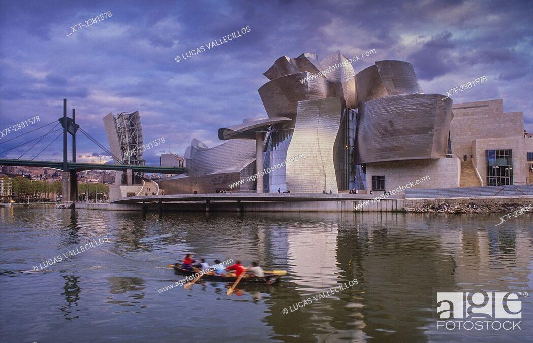 Photo de stock: Guggenheim Museum by Frank O. Gehry. Bilbao. Vizcaya. Spain.