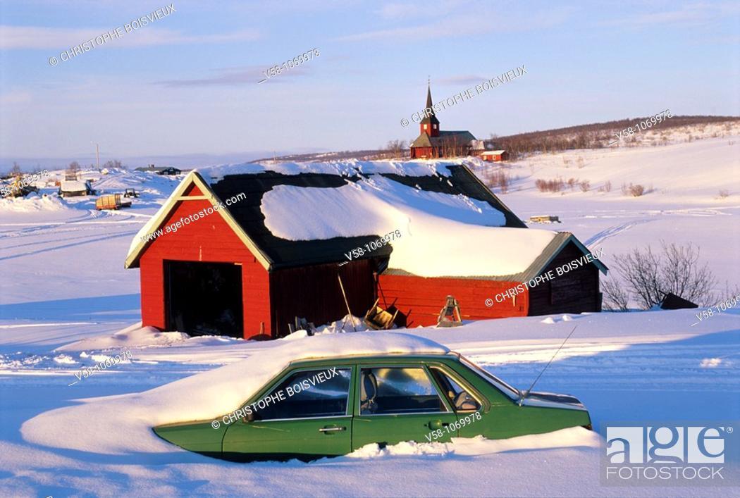 Stock Photo: Kautokeino, Finnmark, Norway.