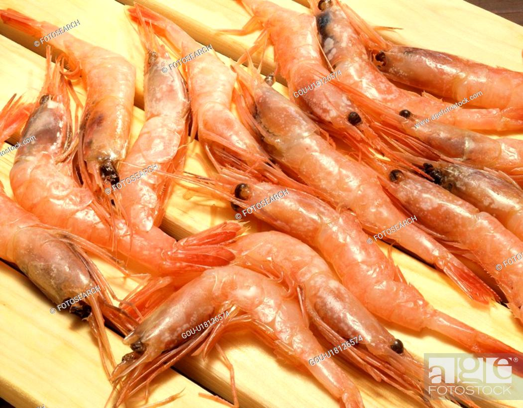 Stock Photo: Shrimp.