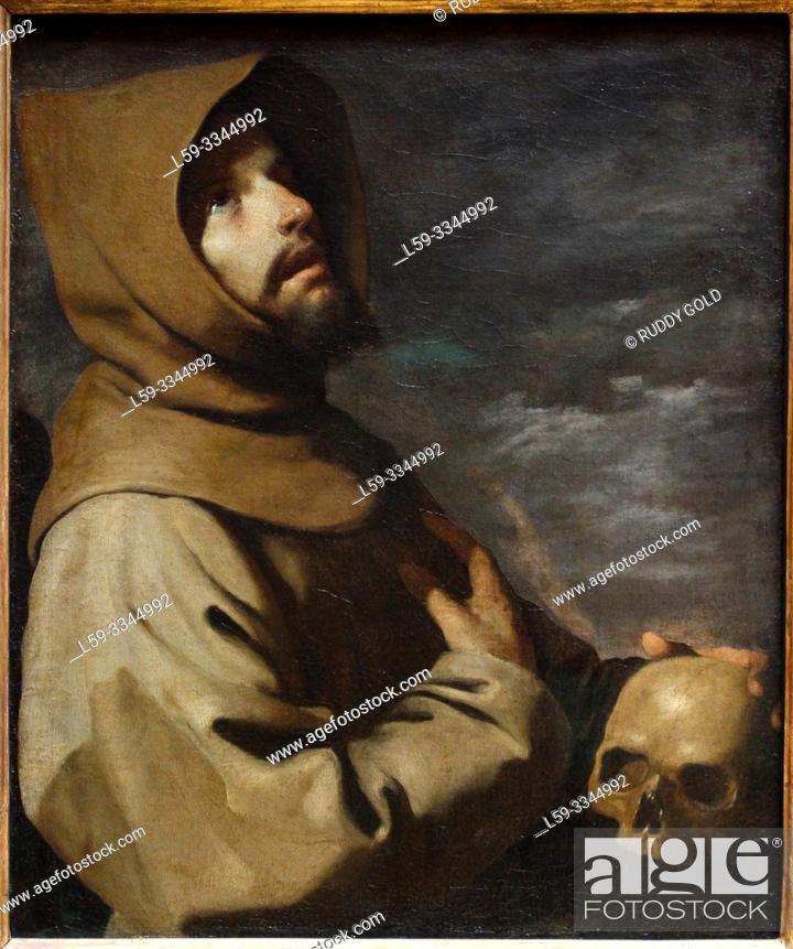 Imagen: 'The Ecstasy of St. Francis', 1660, by Francisco de Zurbarán (1598-1664).