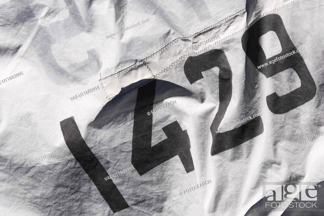 Stock Photo: Black And White, Appearance, Cloth, Close-Up, Black, 1429.