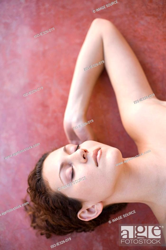 Stock Photo: Woman relaxing.