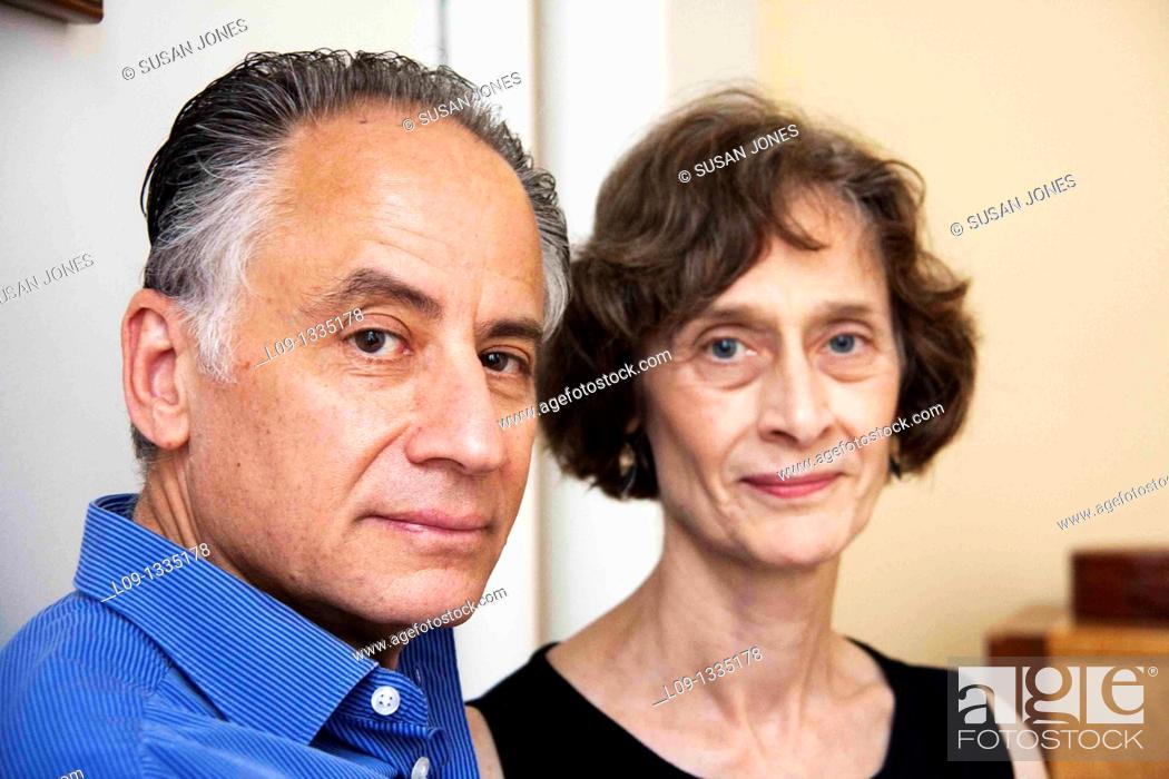 Stock Photo: Portrait of couple.