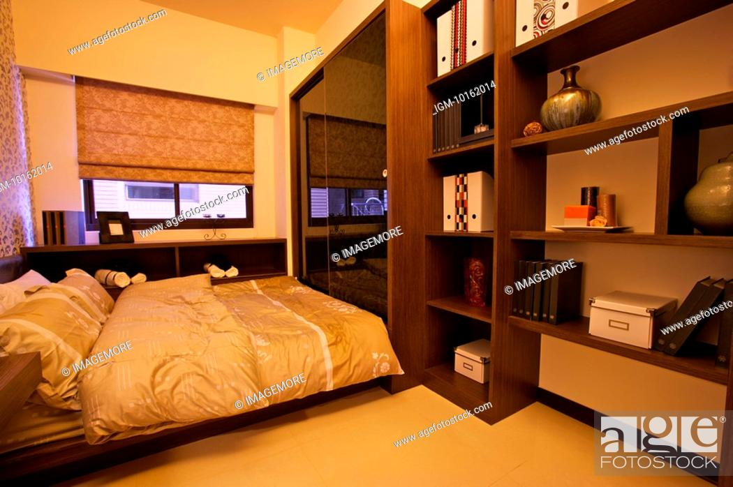 Stock Photo: Modern Interior Design - Bedroom.