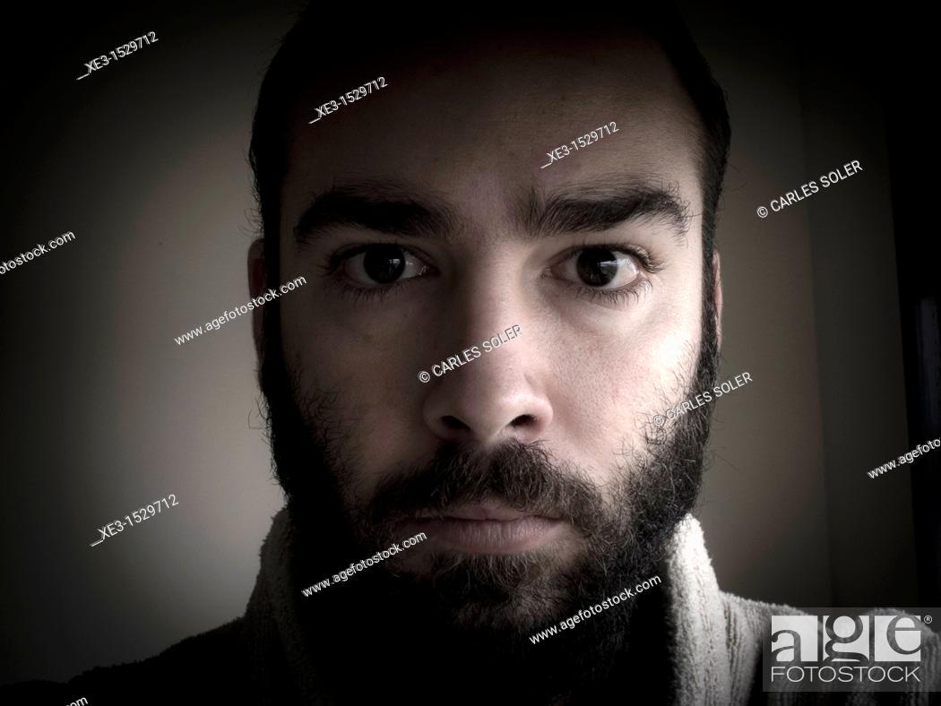 Stock Photo: Serious man.