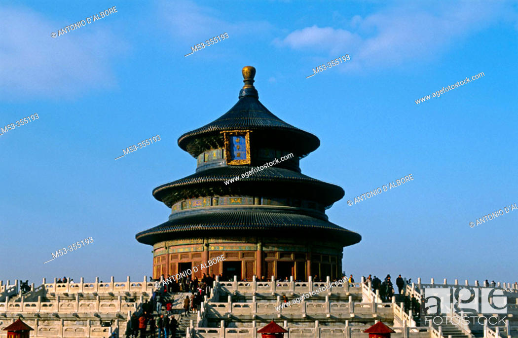 Stock Photo: Hall of prayer for good harvest, Temple of Heaven. Beijing. China.