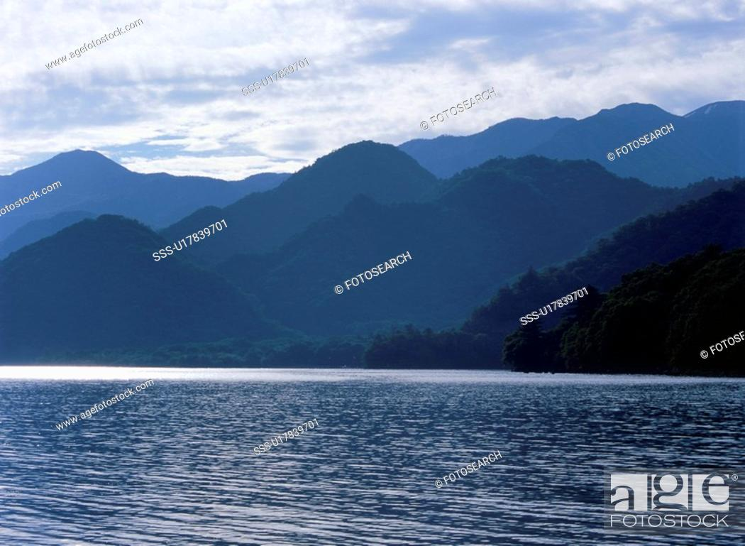 Stock Photo: Lake Chuzenji.