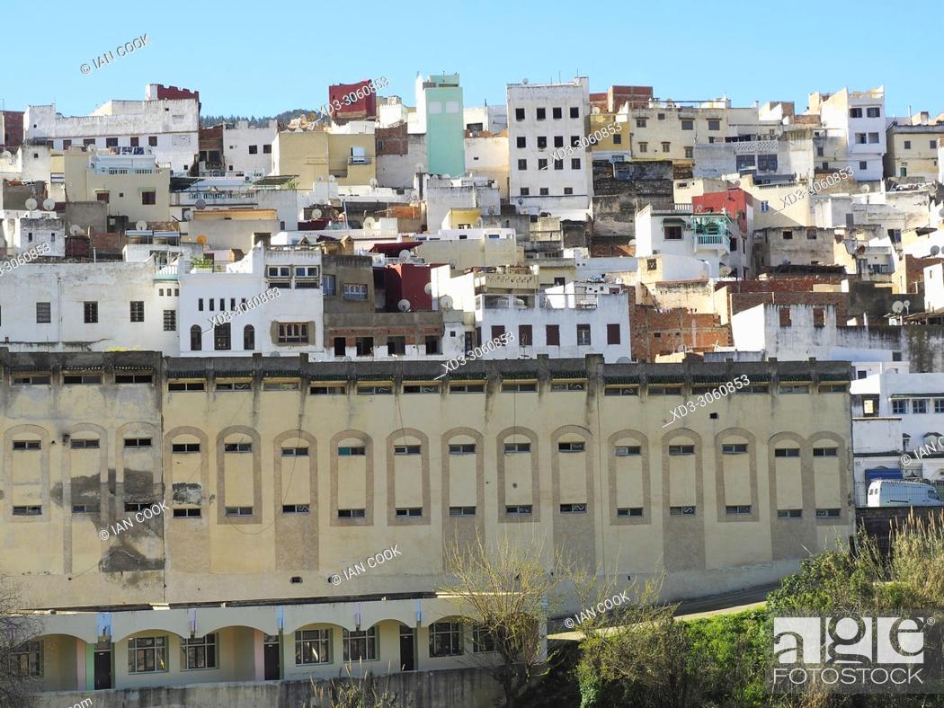 Stock Photo: Moulay Idriss Zerhoun, Middle Atlas Mountains, Morocco.