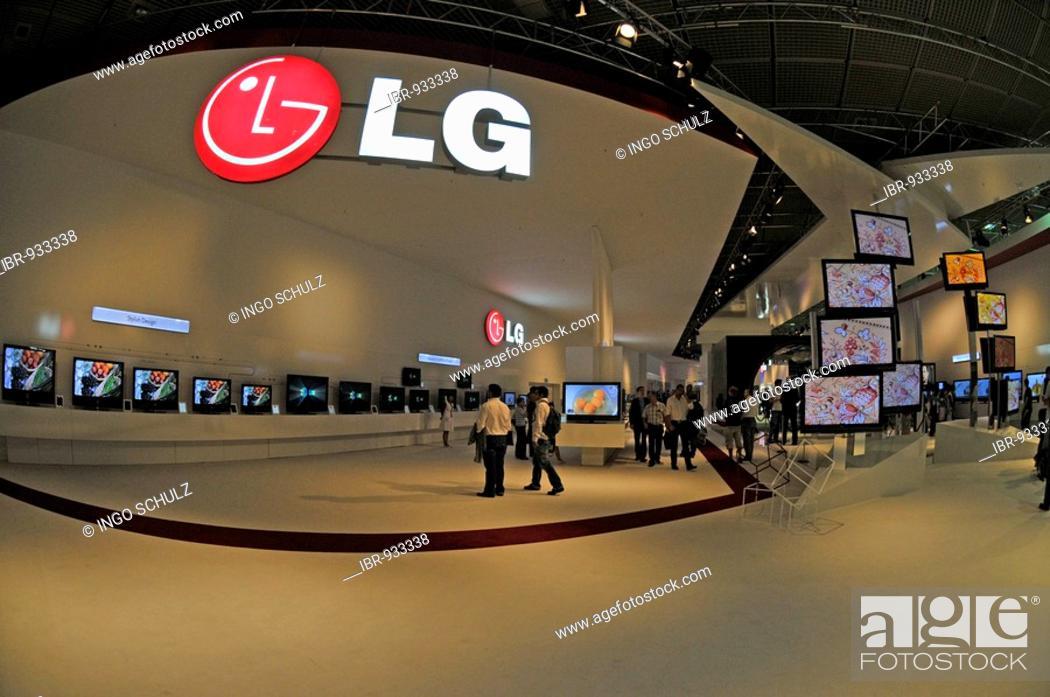 Imagen: LG hall, International Radio Exhibition IFA, Berlin, Germany, Europe.