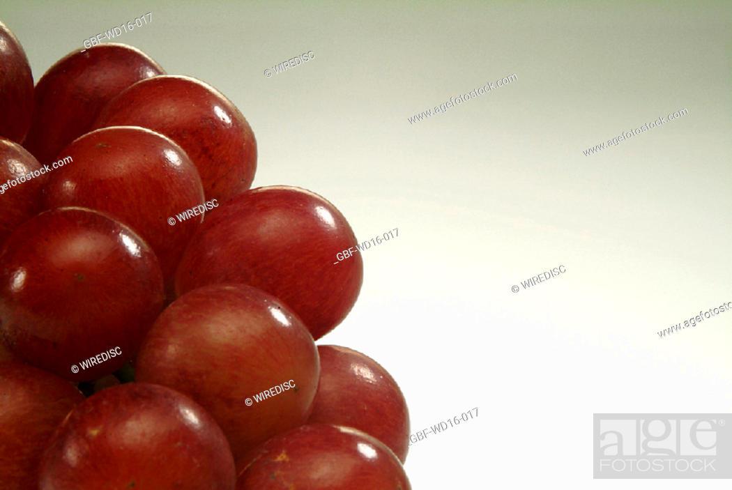 Stock Photo: Food, fruit, grape.