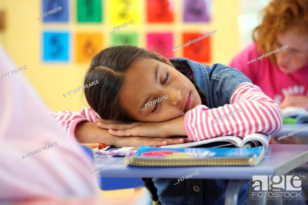 Stock Photo: School time.