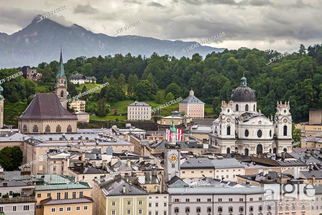Stock Photo: Old town, Salzburg, Austria.