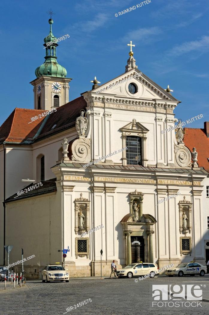 St Joseph's Church, Carmelite Monastery, historic town centre of