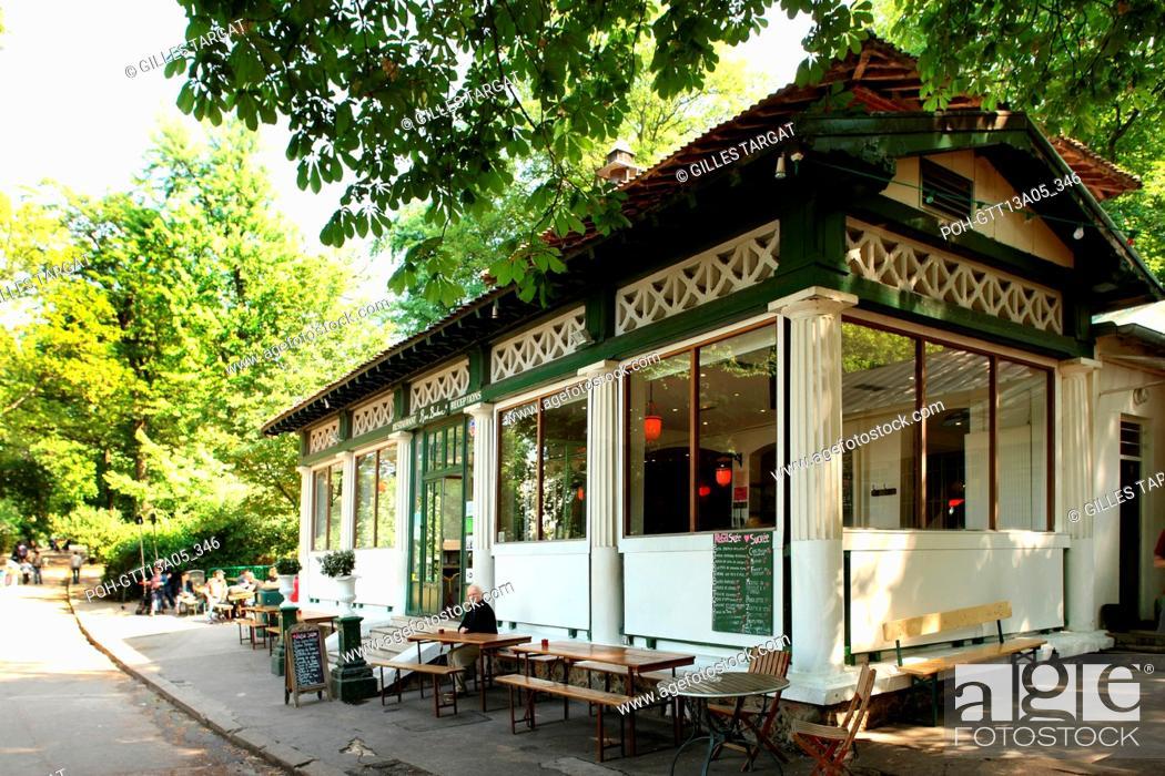 France Ile De France Paris 19e Arrondissement Parc Des
