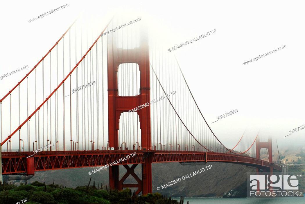 Imagen: USA, California, San Francisco, Golden Gate Bridge.