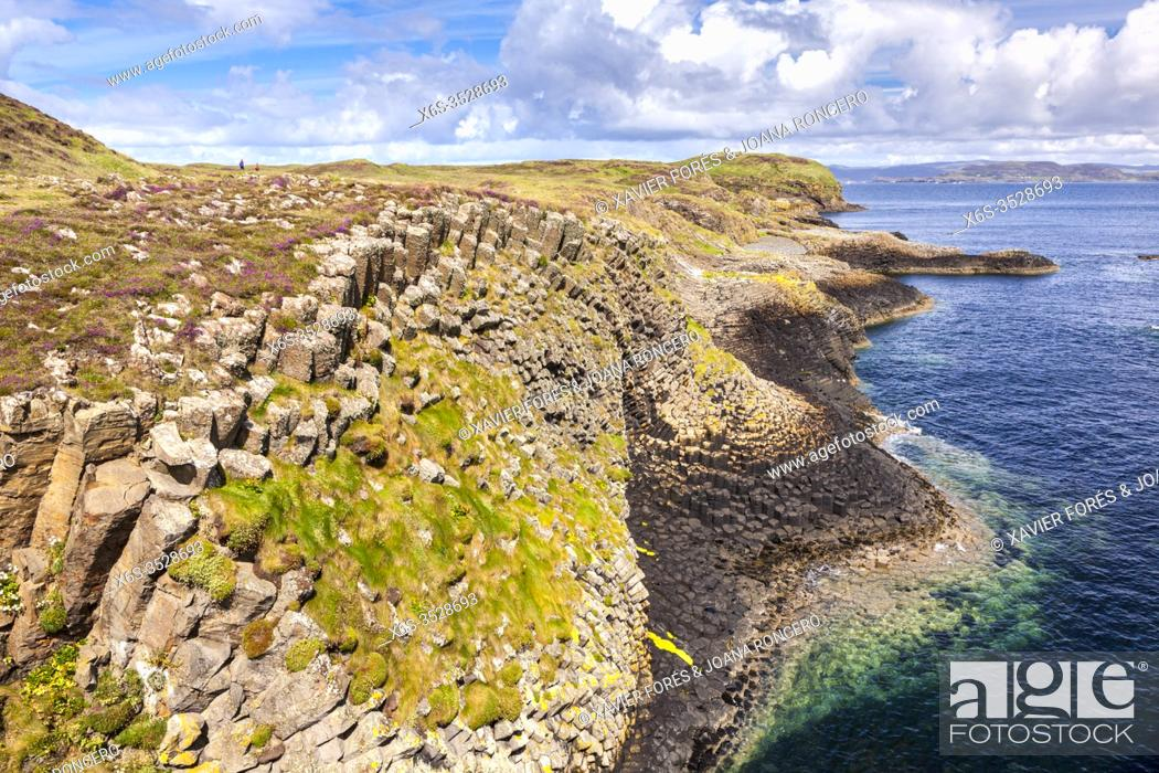 Stock Photo: Staffa island near Isle of Mull, Argyll and Bute, Scotland.