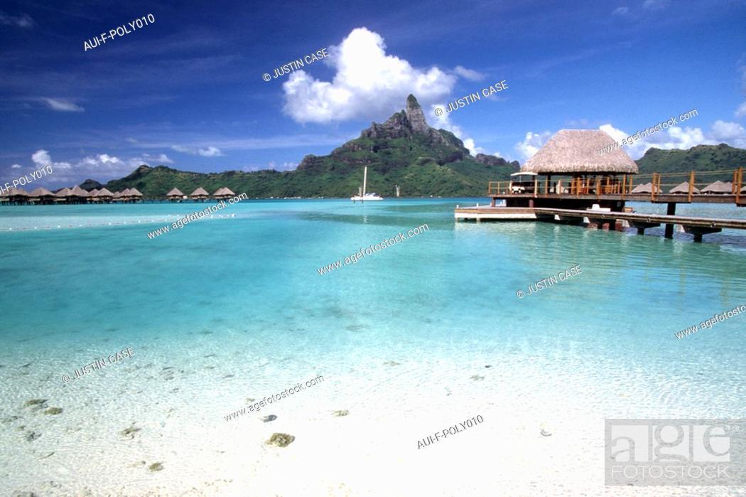 Stock Photo: French Polynesia - Bora-bora.