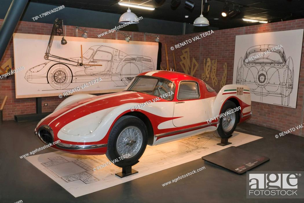 Italy Piedmont Turin New Automobile Museum Mauto Fiat Turbina