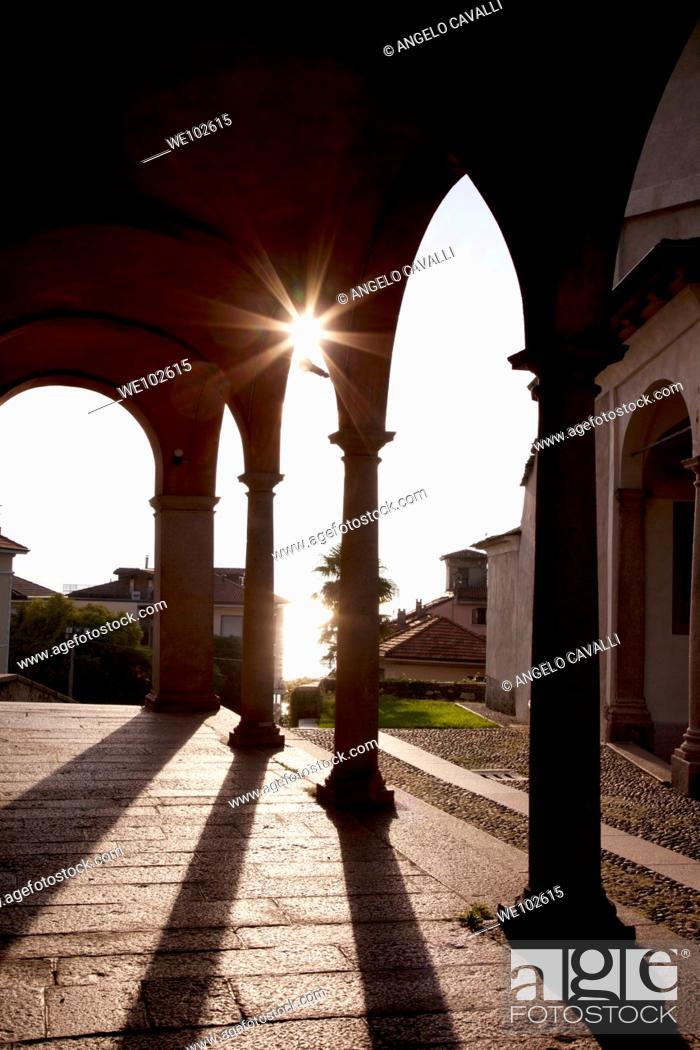 Stock Photo: Baveno, Lake Maggiore, Piedmont, Italy.