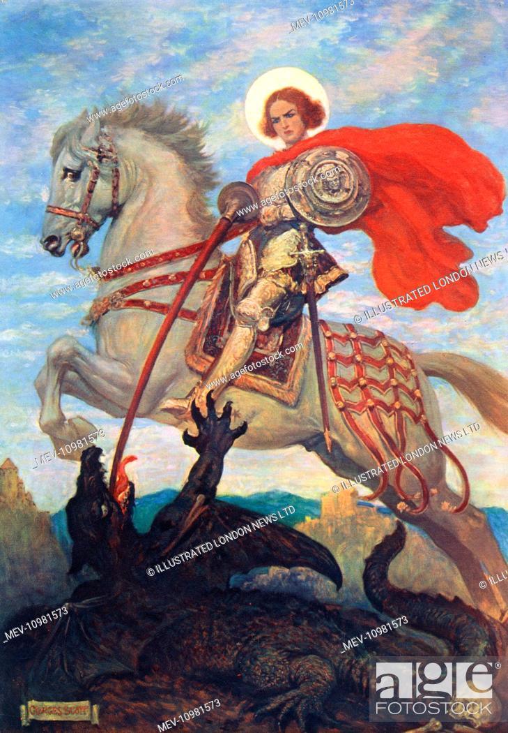 Patron saint of courage