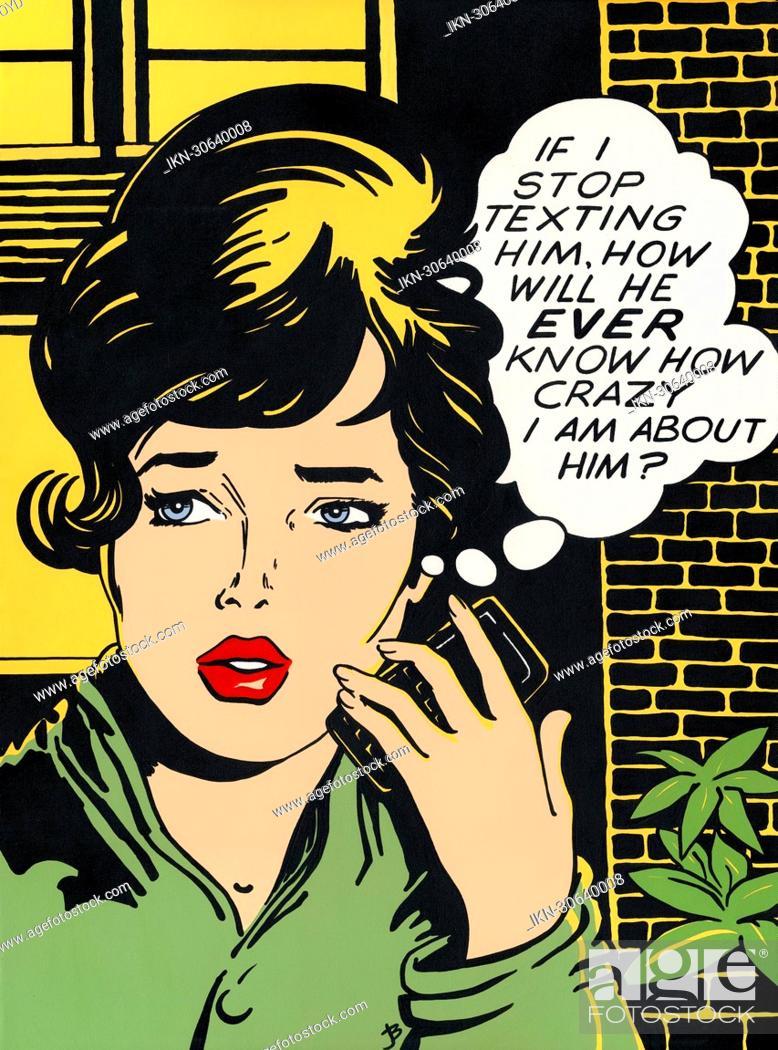 Imagen: Worried woman.