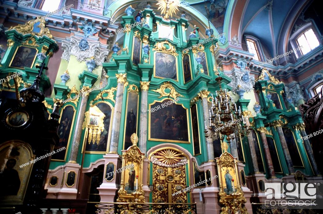 Stock Photo: Lithuania, Vilnius, Holy Ghost Orthodox Church,.