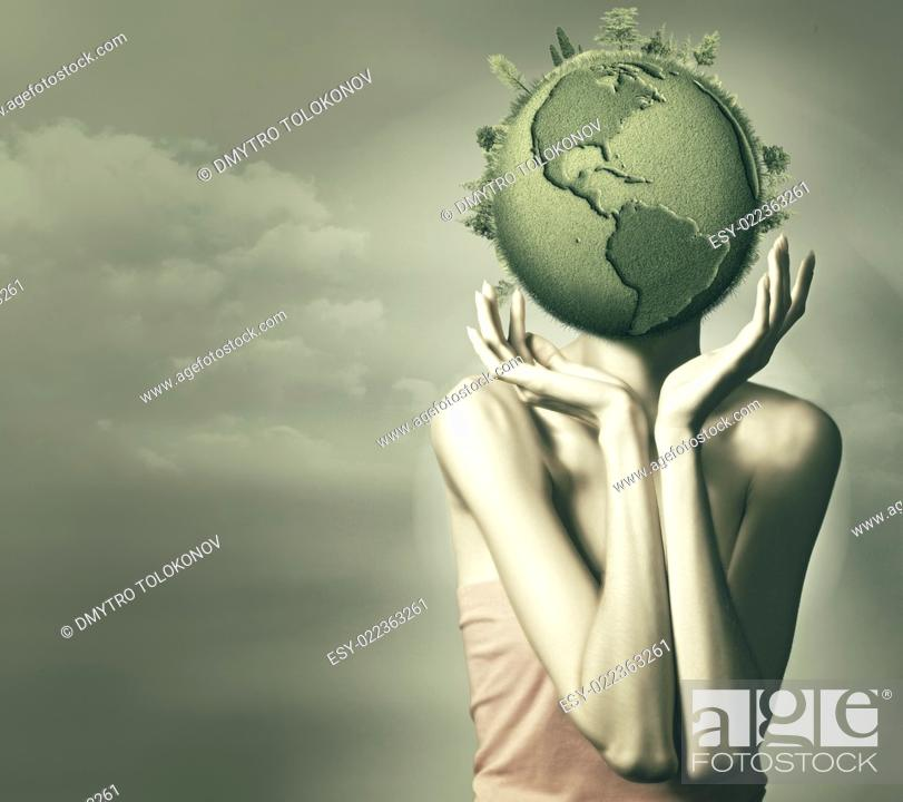 Stock Photo: Mother Nature. Abstract environmental backgrounds.