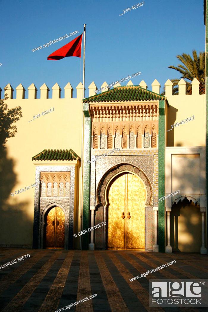 Stock Photo: Royal Palace. Fes el Jedid, Fes. Morocco.