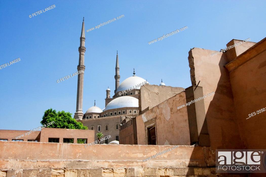 Qasr Al Gawhara Or Jewel Palace And Mohammed Ali Mosque In