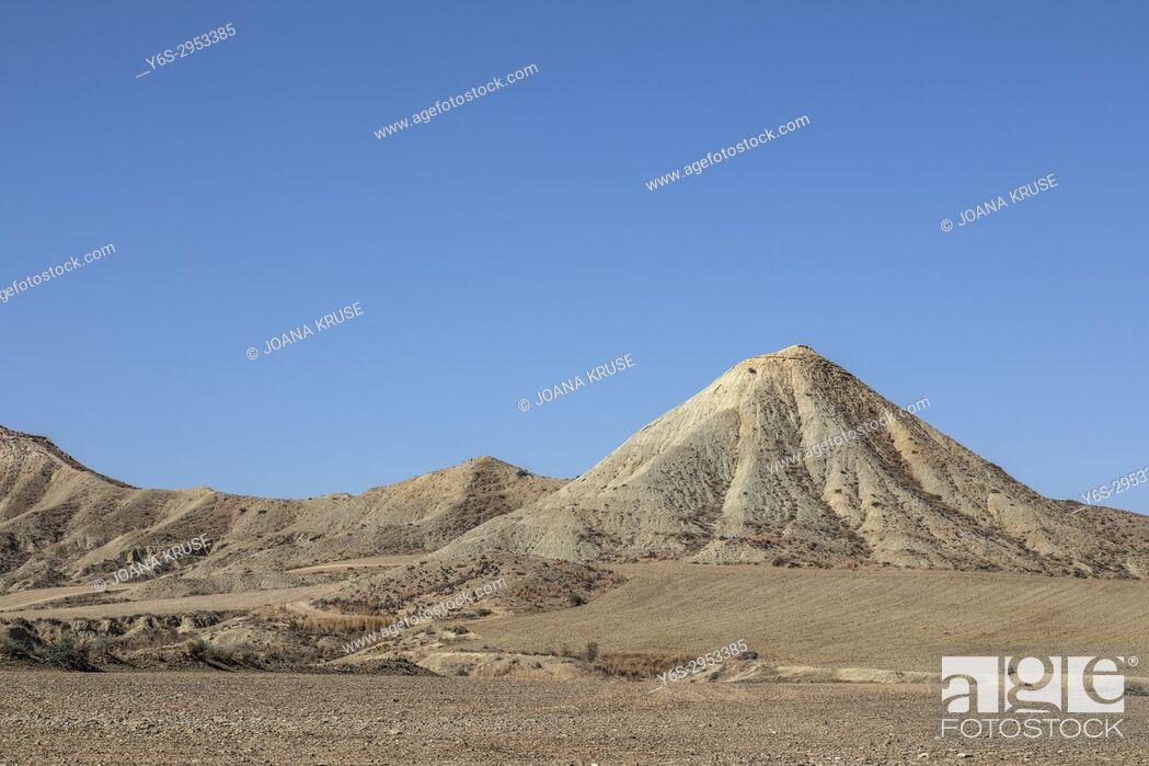Stock Photo: Desert in Marki, Nicosia, Cyprus.
