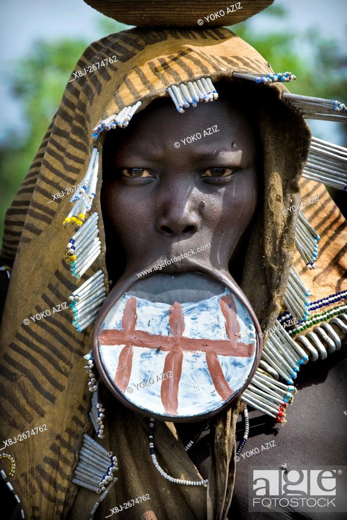 Imagen: Mursi tribe, Mago National Park, Ethiopia.