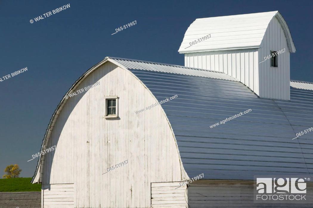 Stock Photo: Farm along Rt. 52. Northeast Iowa. Rickardsville. Iowa. USA.