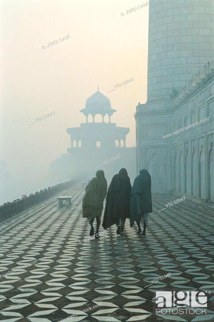 Stock Photo: Taj Mahal. Agra. India.